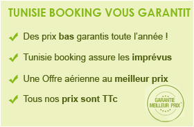 tunisie booking vous garantit